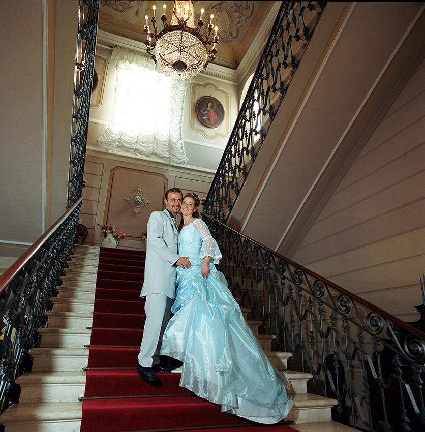 Marzia Fregni interior designer wedding planner designer decoratrice floreale catarin matrimonio in azzurro