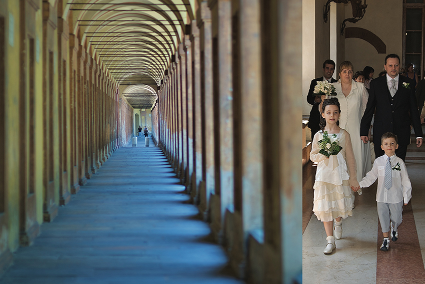 Marzia Fregni wedding planner designer progettista d'immagine sposi damigella paggetto San Luca Bologna