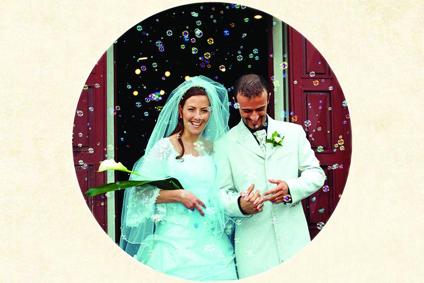matrimonio in azzurro nozze bolle di sapone Marzia Fregni wedding planner designer decorazione nozze