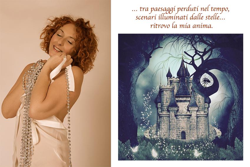 book fotografico castello