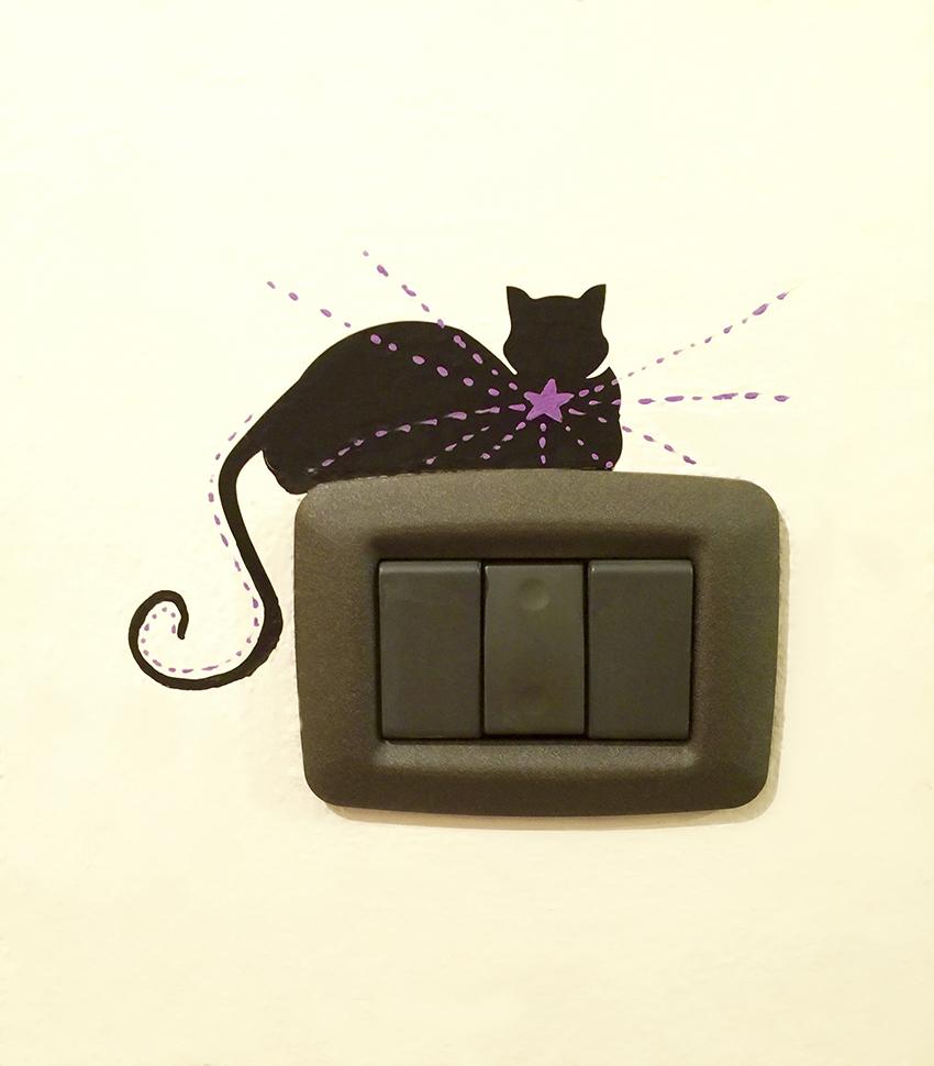placche interruttori gatto stella